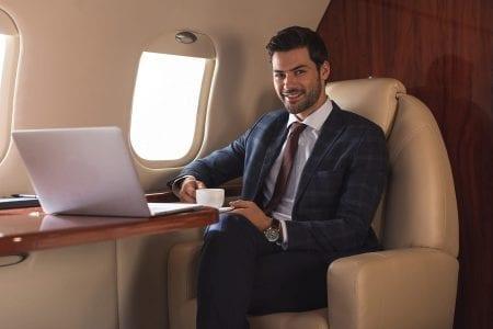 robotichairrx-man-sitting-plane